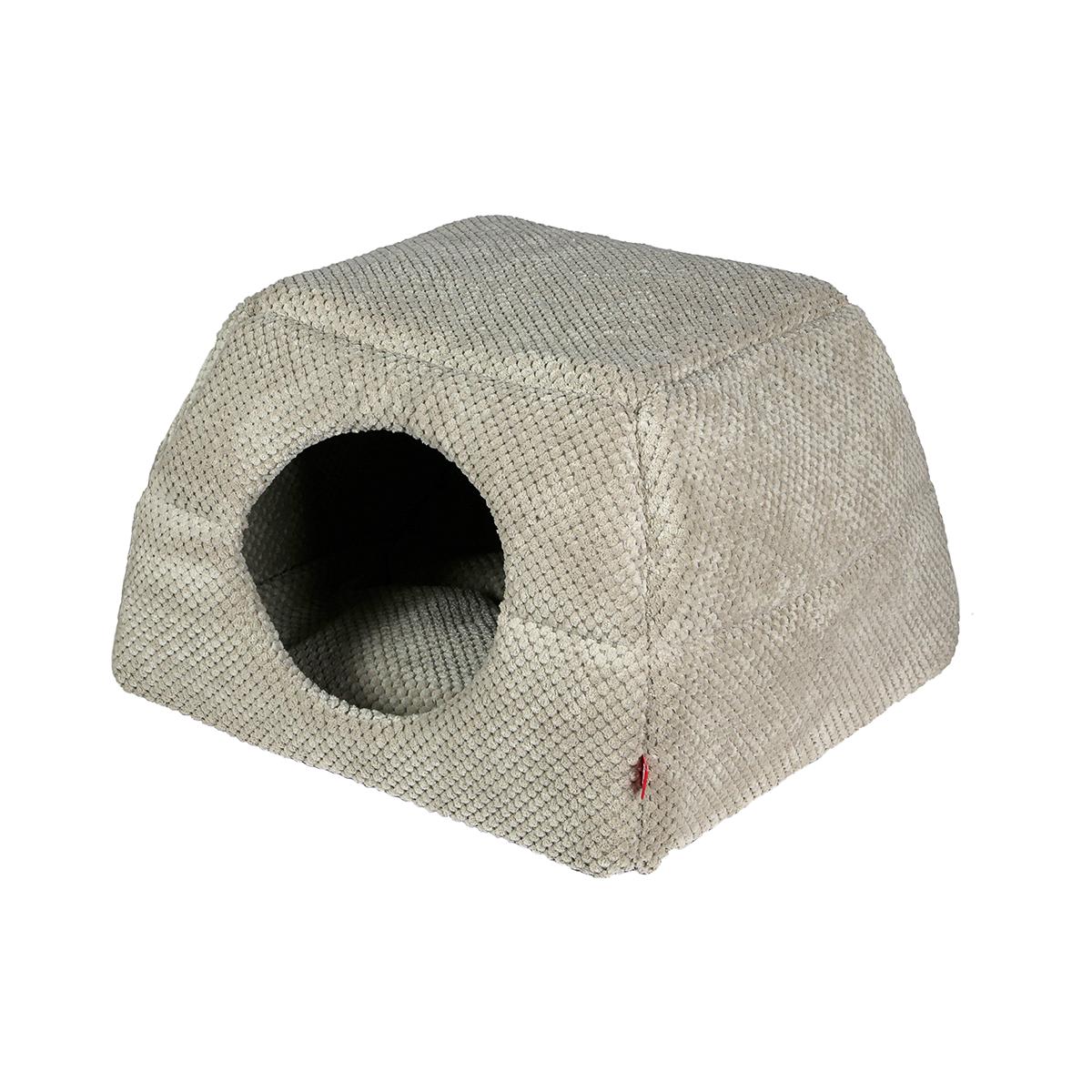 0b935ed0975fb6 Budka dla psa lub kota Doti rozmiar 2 beżowa - AmiBelle